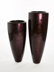 HERBA Planter Dark Plum 40 x 40 x 91 cm