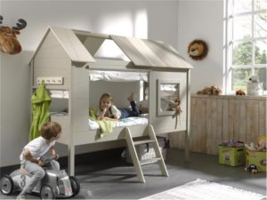 Hut bed in 2 kleuren