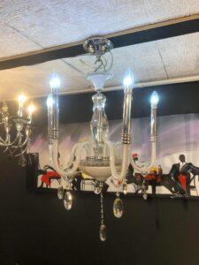 Kroonluchter Irina – Glazenconstructie – 6 Koppen